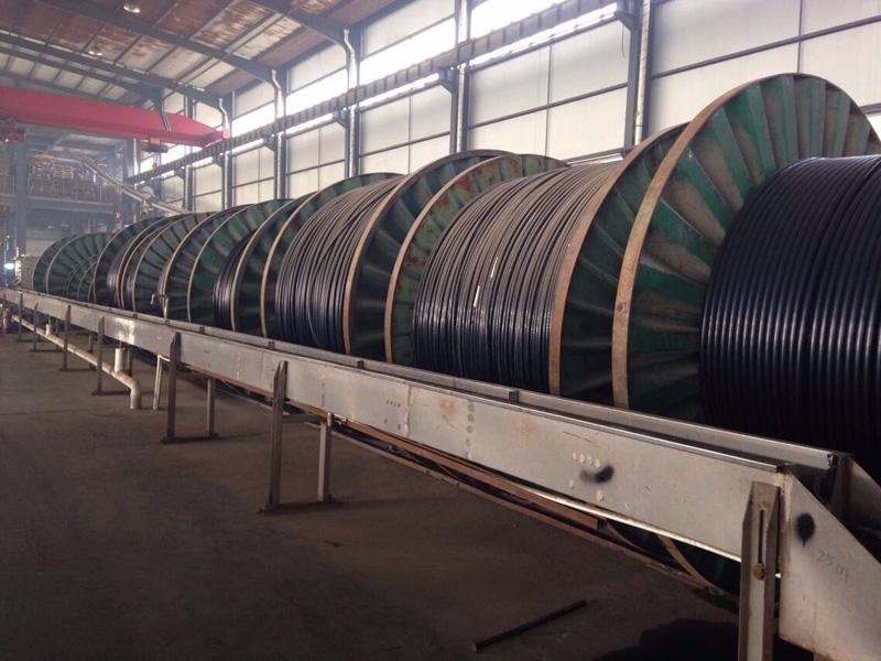 电线电缆生产车间